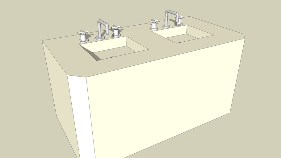 Dual Sink- Private Lavatory