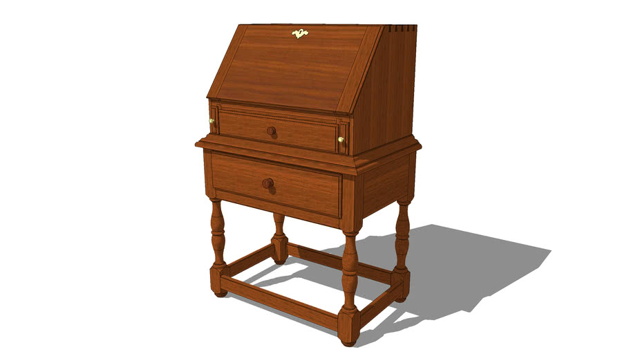 Desk-on-Frame - Early American