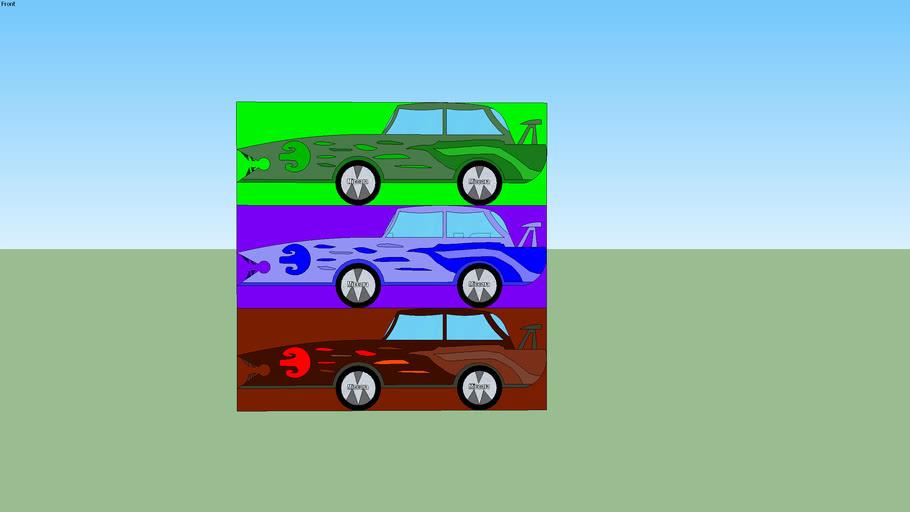 'Miccara' Cars 'Tribal' Type V.1.0.