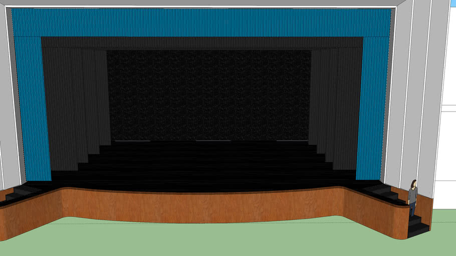 WHS THEATER STAGE