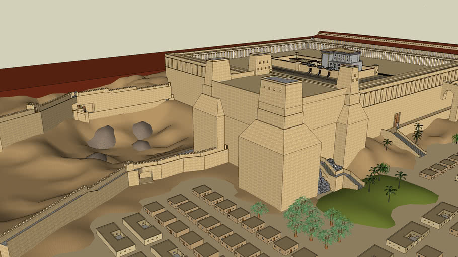 The Second Temple in Jerusalem