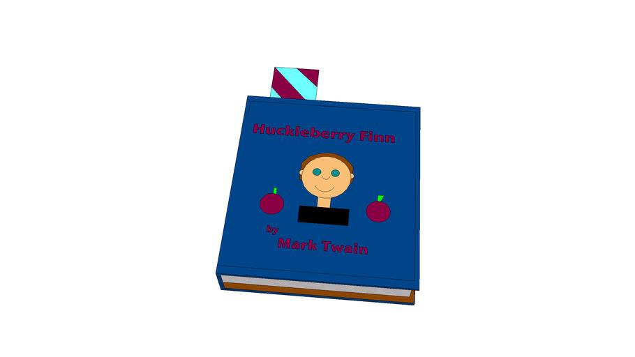 Huckleberry Finn Book by Mark Twain