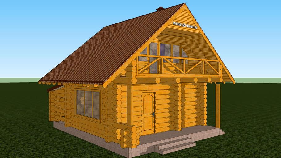 Log Cabin Latvia