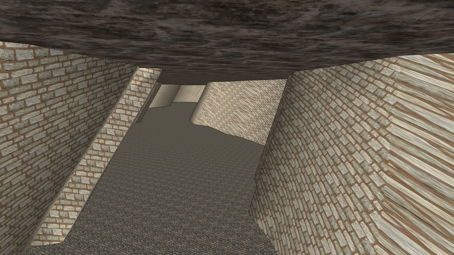 Very Odd Cave - Sketchup 8.