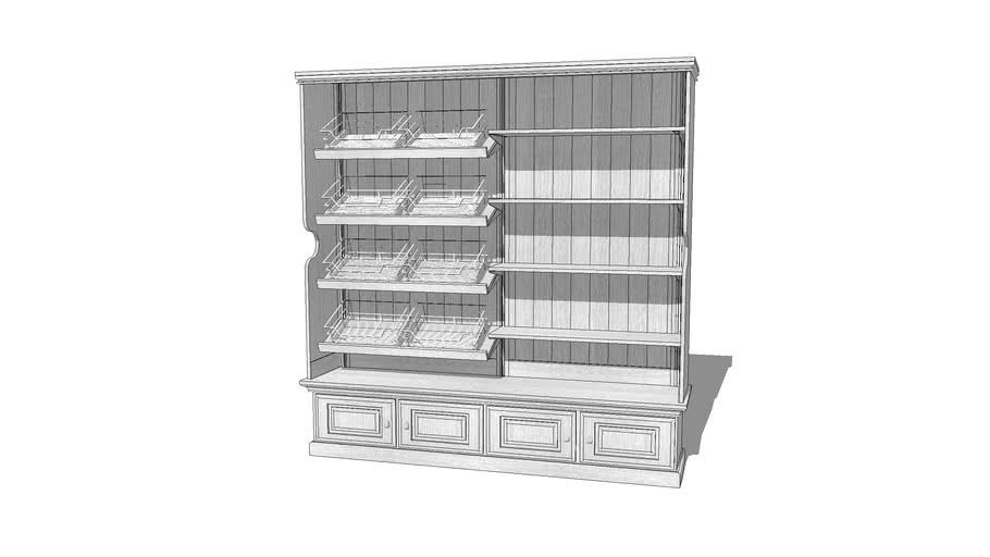 Bakery display dresser