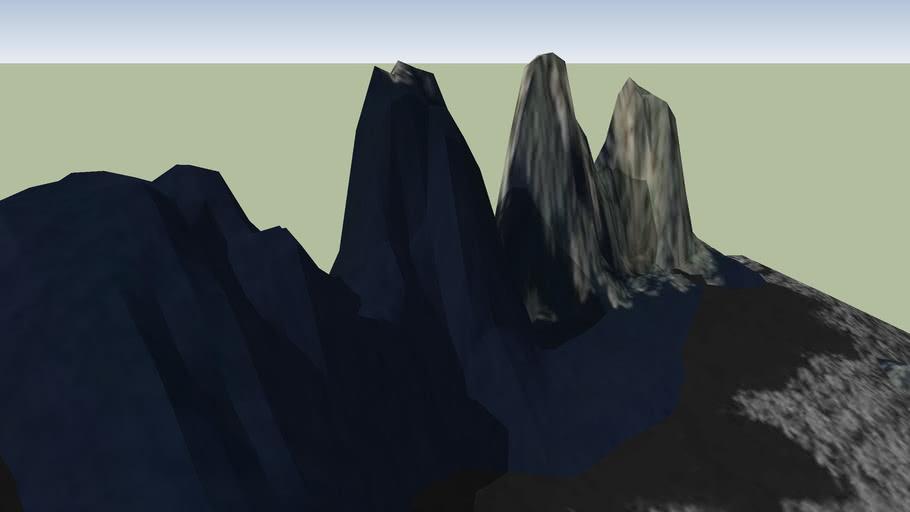 The Three Sisters (remake terrain)