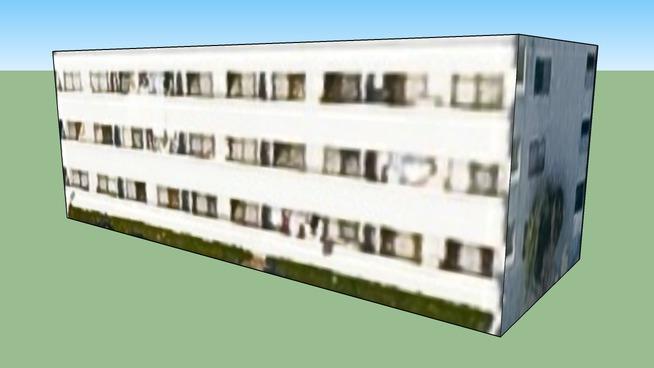 Building in Chūō Ward, Saitama City, Saitama Prefecture, Japan