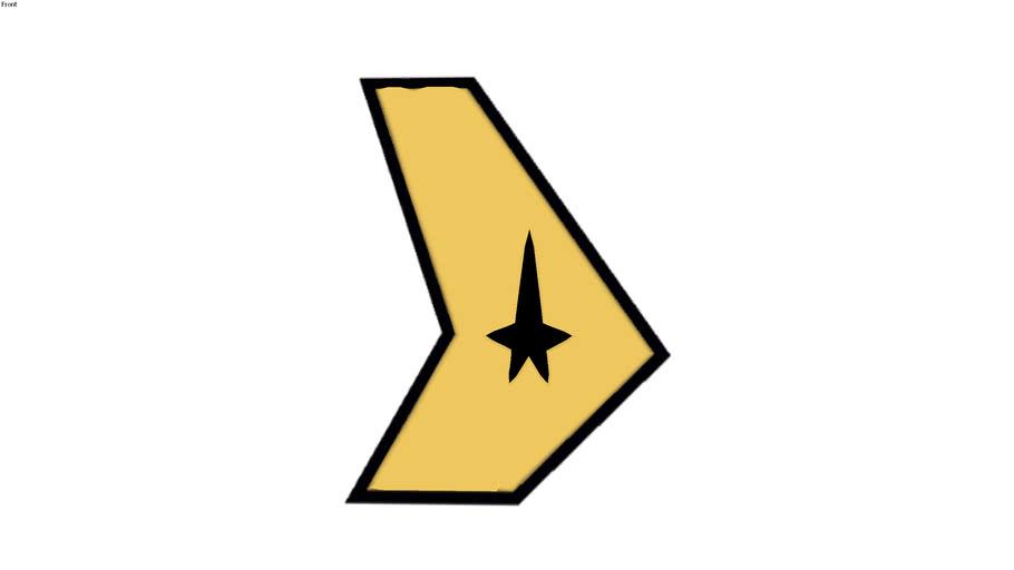 logo Star Trek USS Defiant