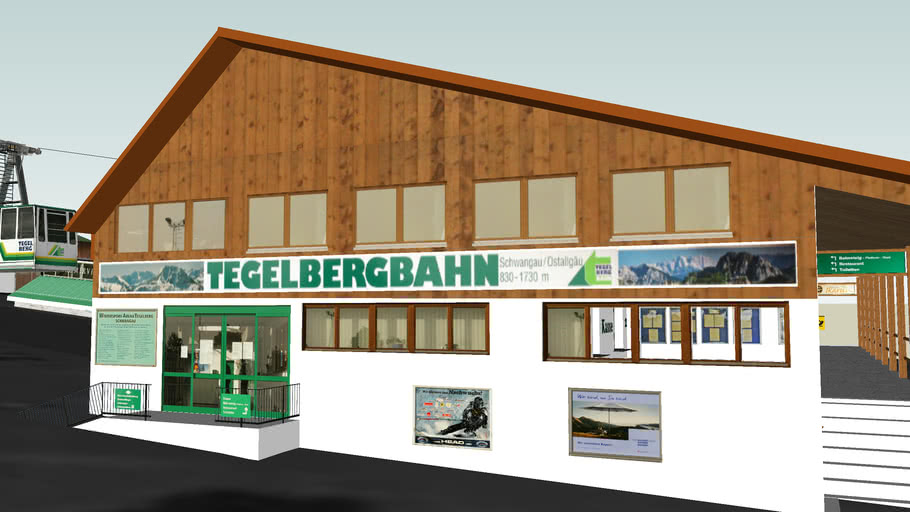 Tegelbergbahn Schwangau / Talstation