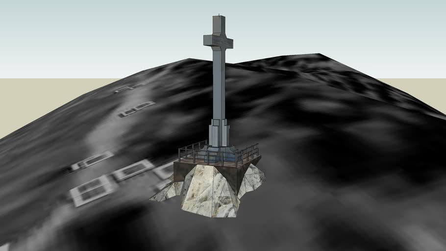 La Cruz del Castillo de Jaen