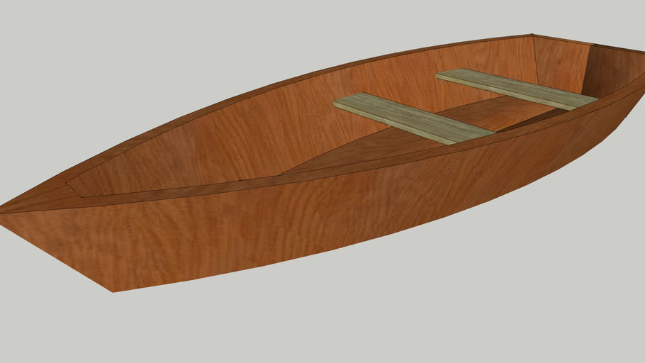 Simple Wooden Boat