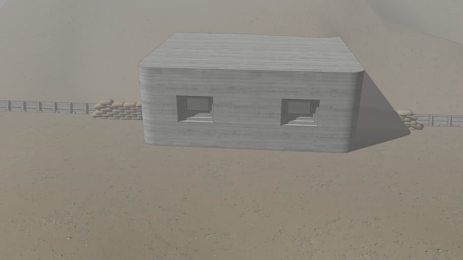 WWII pillbox