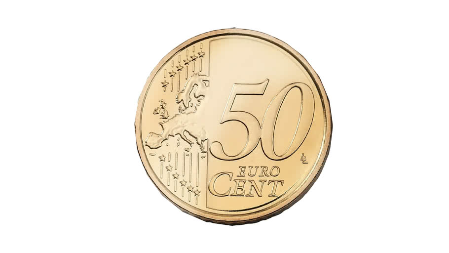 Fifty cent - 0,50 €