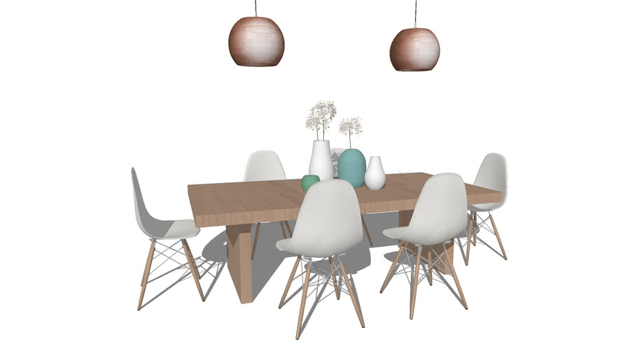 Dining table | 3D Warehouse