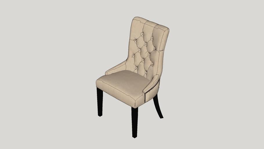 Jodie Tufted Nailhead Parsons Chair