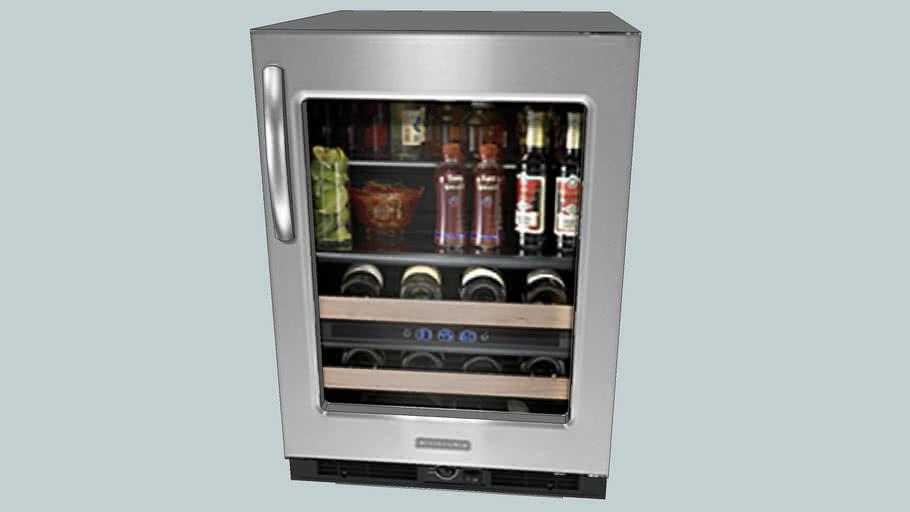 ge mini fridge with lock