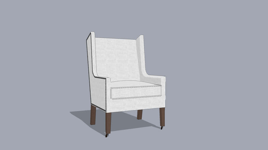 Modern Wing Chair