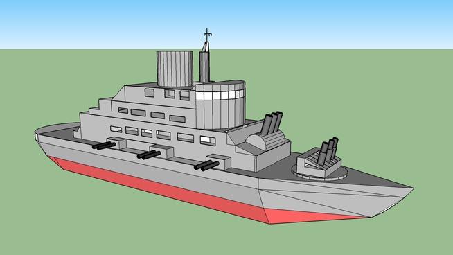 Naval Frigate