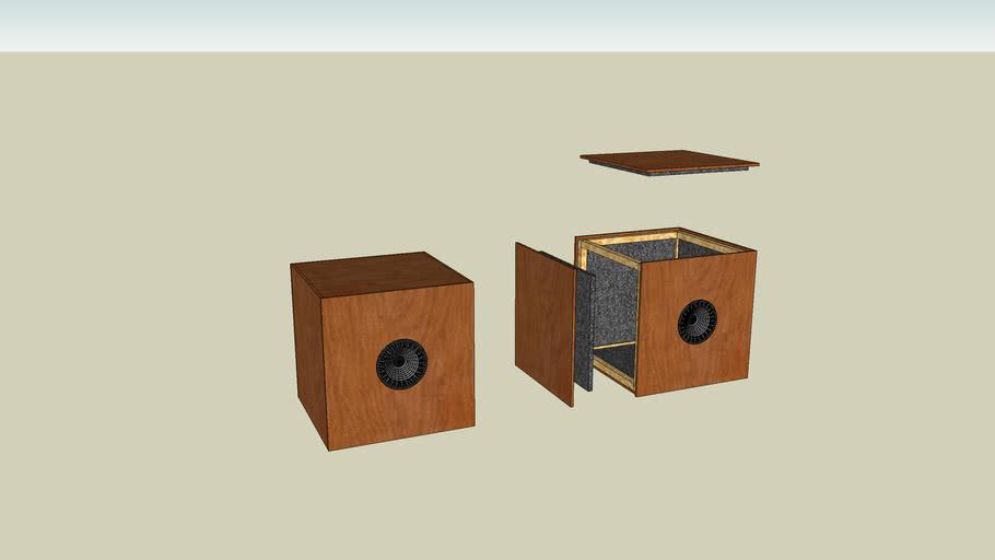 """12"""" woofer speaker box"""