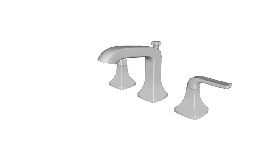 K R76216 4d Rubicon R 8 Widespread Bathroom Faucet 3d Warehouse