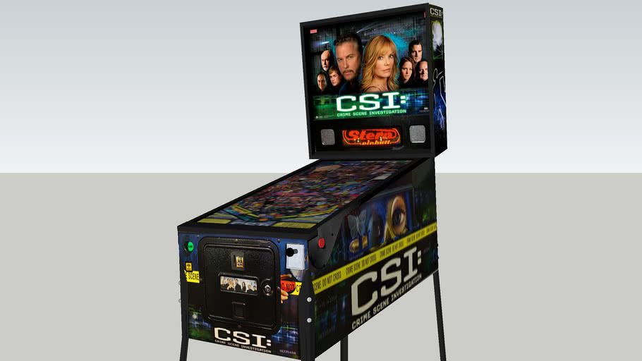 CSI pinball machine