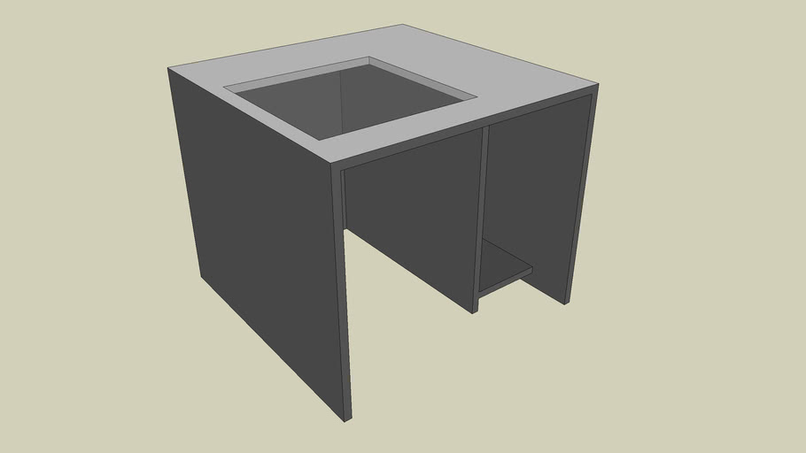 Computer Desk 3' x 3'