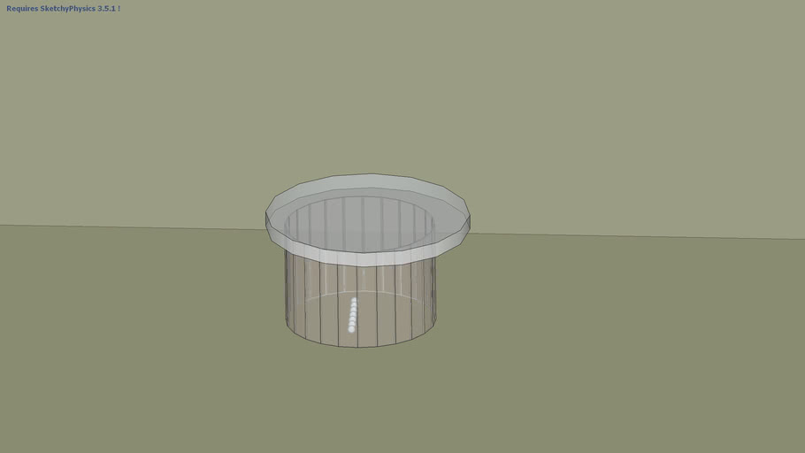 demo of a hollow cylinder
