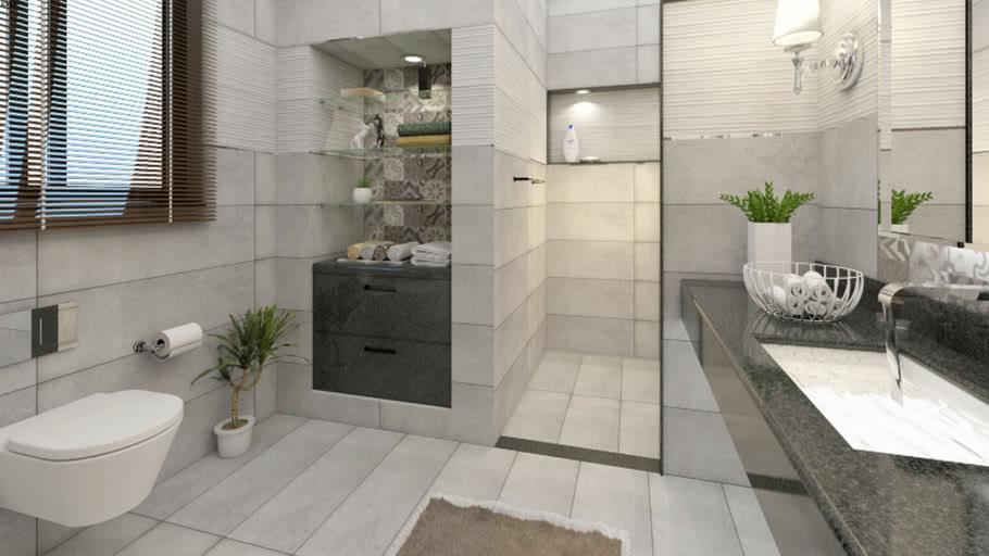 Modern Bathroom Vray Ready Warehouse