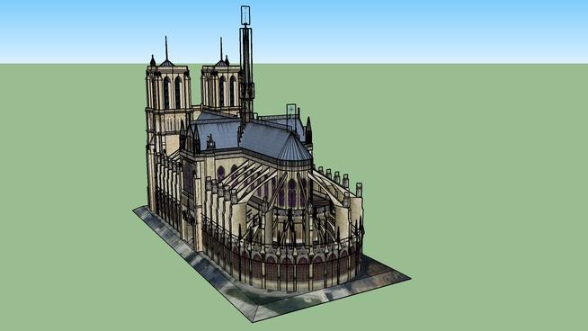 Notre Dame De Paris 3d Warehouse