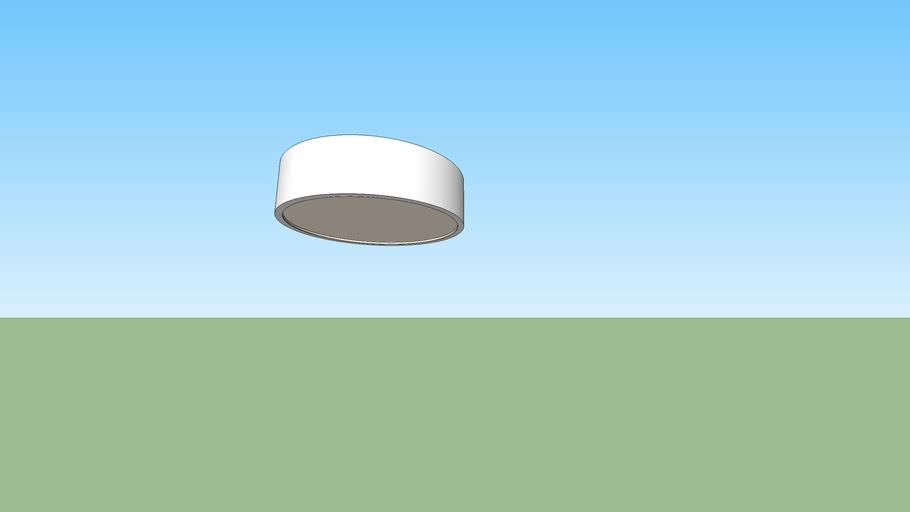 Simple ceiling lamp