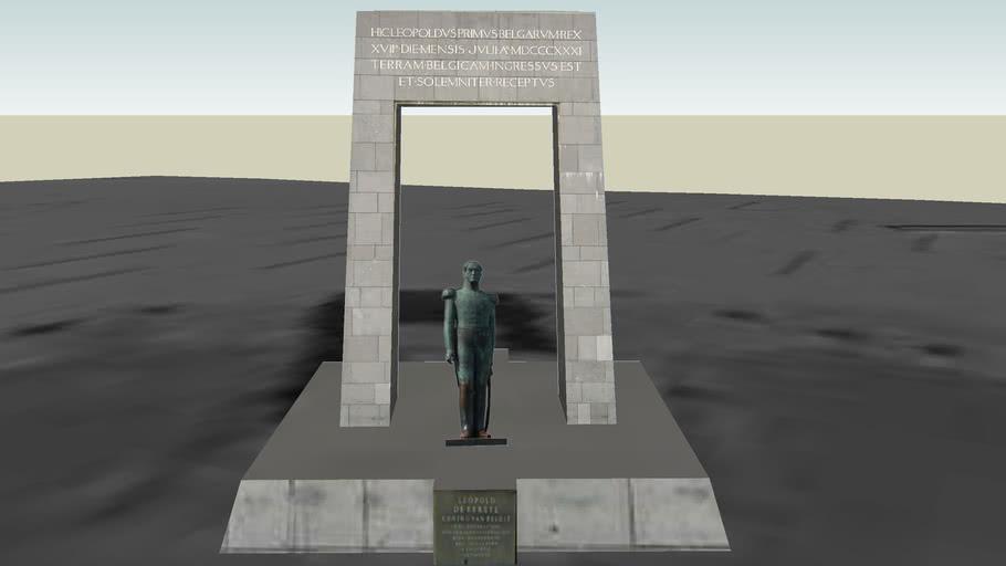 Monument Leopold I, De Panne