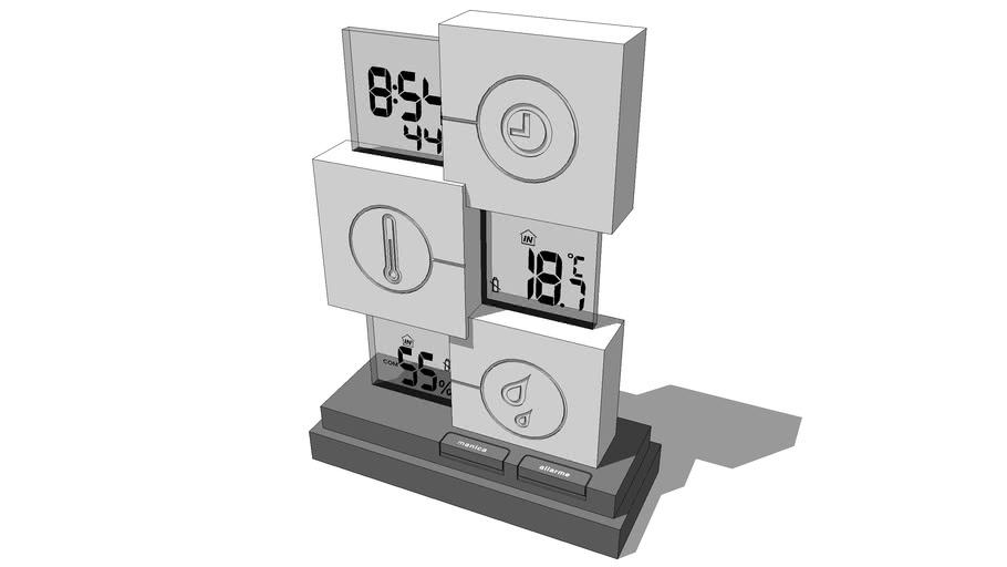Stazione meteorologica digitale multifunzione