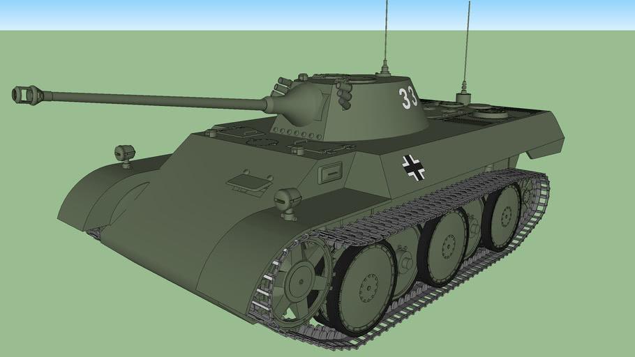 VK1602 Leopard Reconnaisance Tank