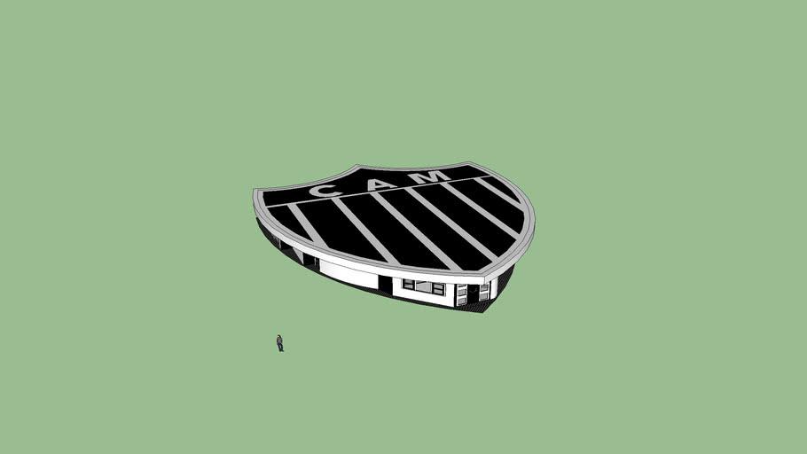 Casa Escudo Do Atletico Mineiro 3d Warehouse