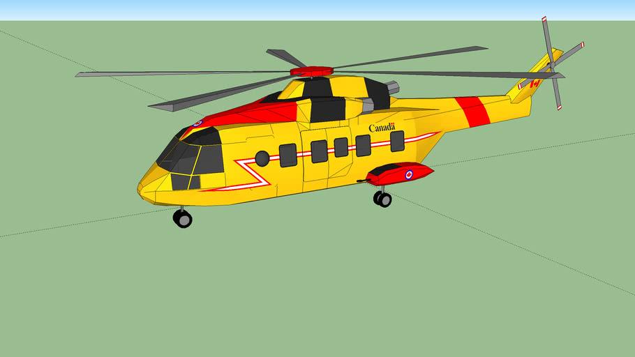 hélicoptère canadair