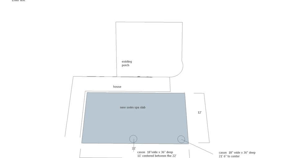 swim spa cason layout