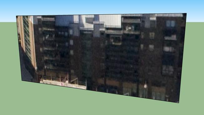 Building in Stockholm urban area (Liljeholmskajen), Sweden