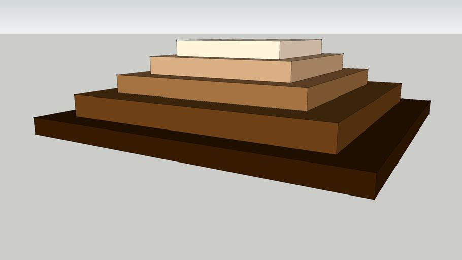 brown shelf