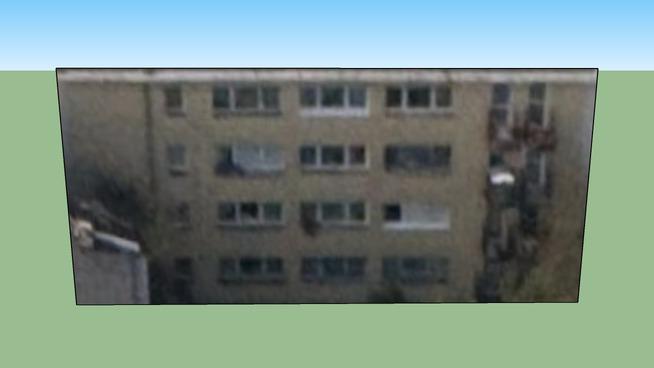 Gebouw in Warszawa, Polen