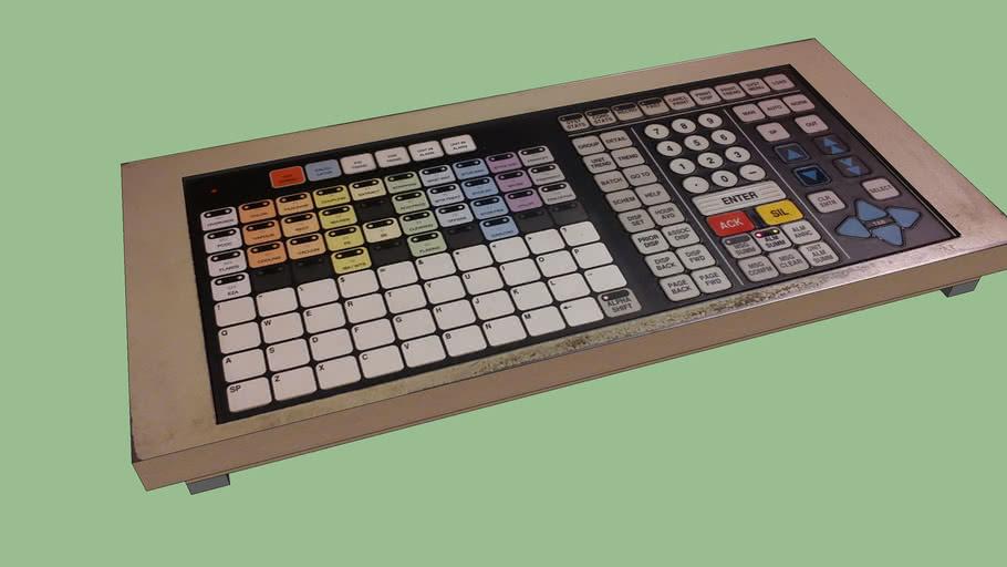 TDC3000 keyboard