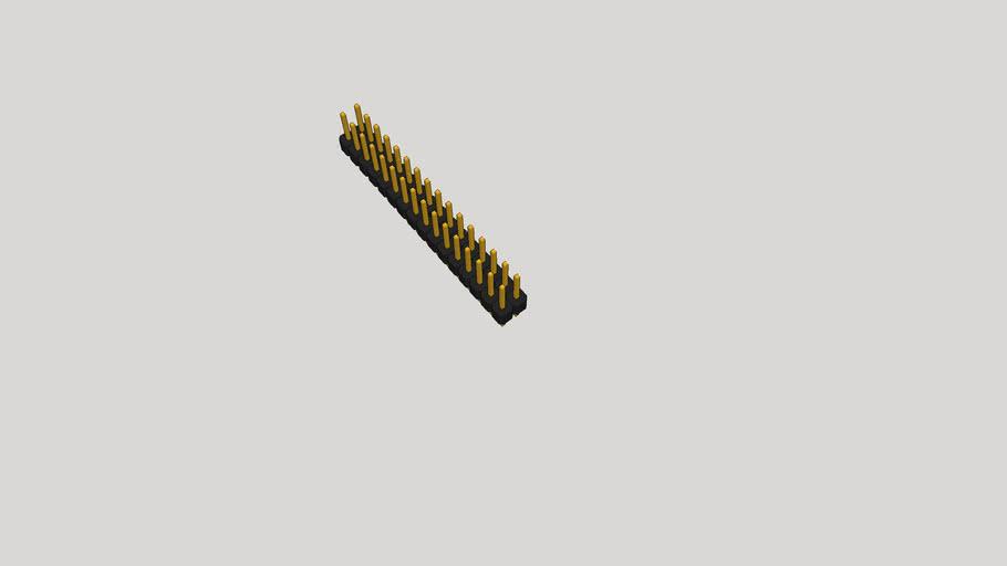 GOLD PIN 2X16