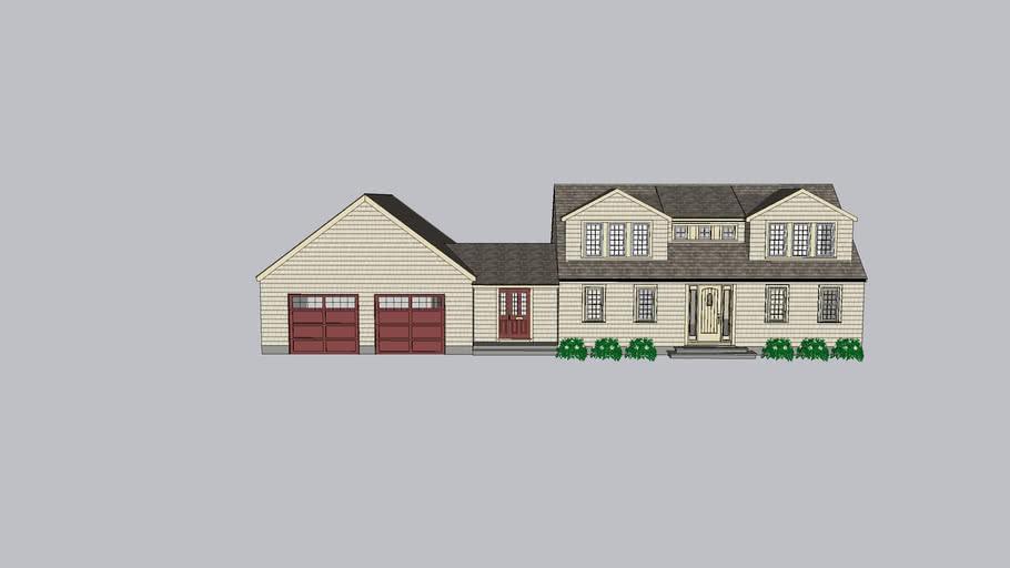 8 Forbes Lane Garage Option 2