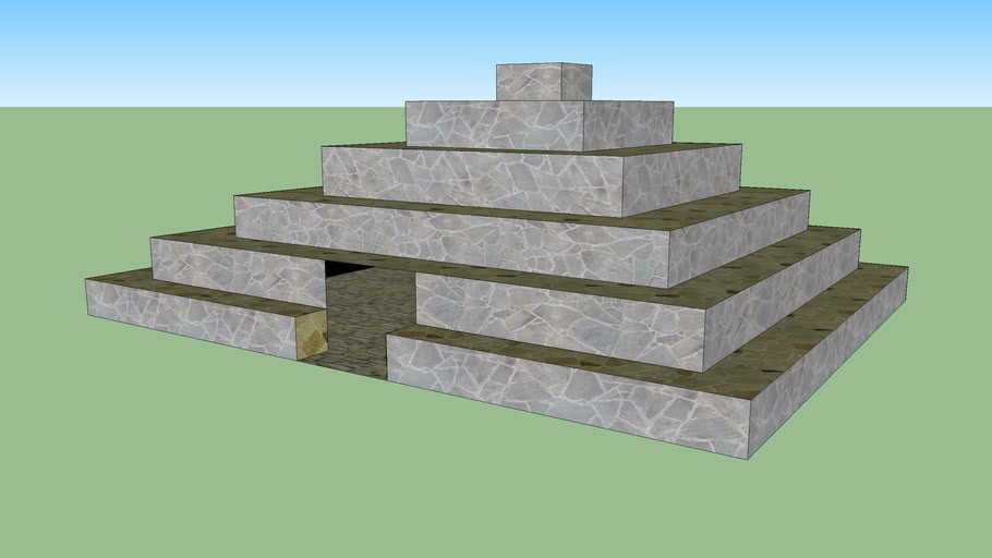 Small pyramid for small people