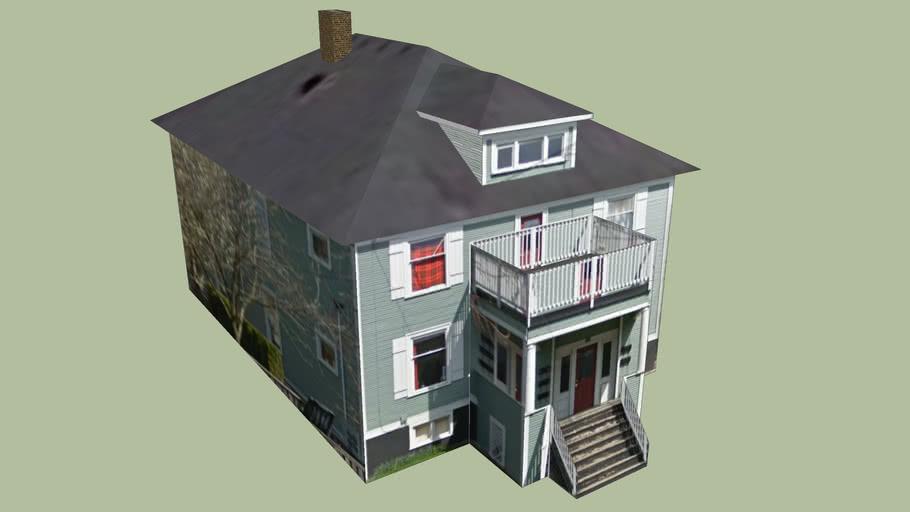 Gebäude in Portland, Oregon-Territorium, Vereinigte Staaten