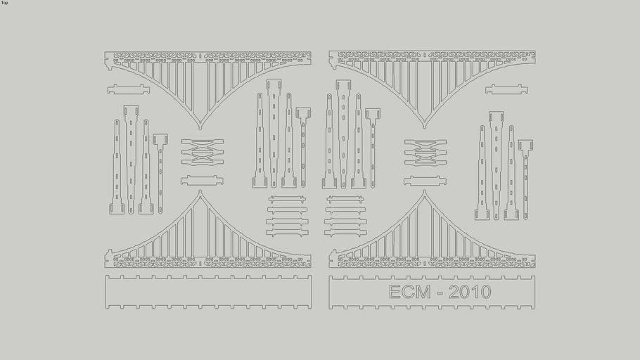 Ponte Goldengate 3D (puzzle)