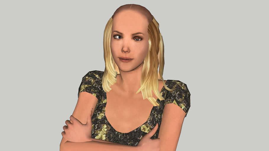 Amanda - 3D woman