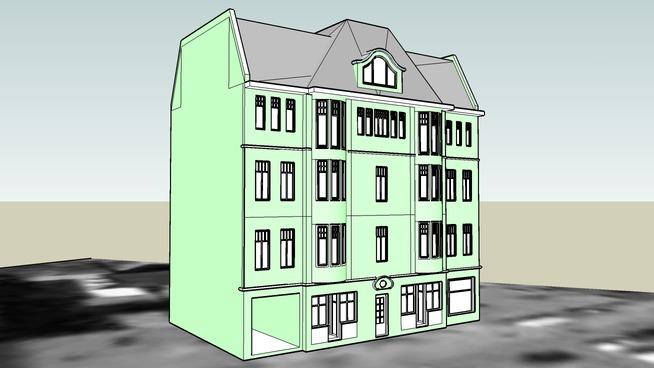 TENEMENT HOUSE ON 67 GDANSKA STREET IN BYDGOSZCZ