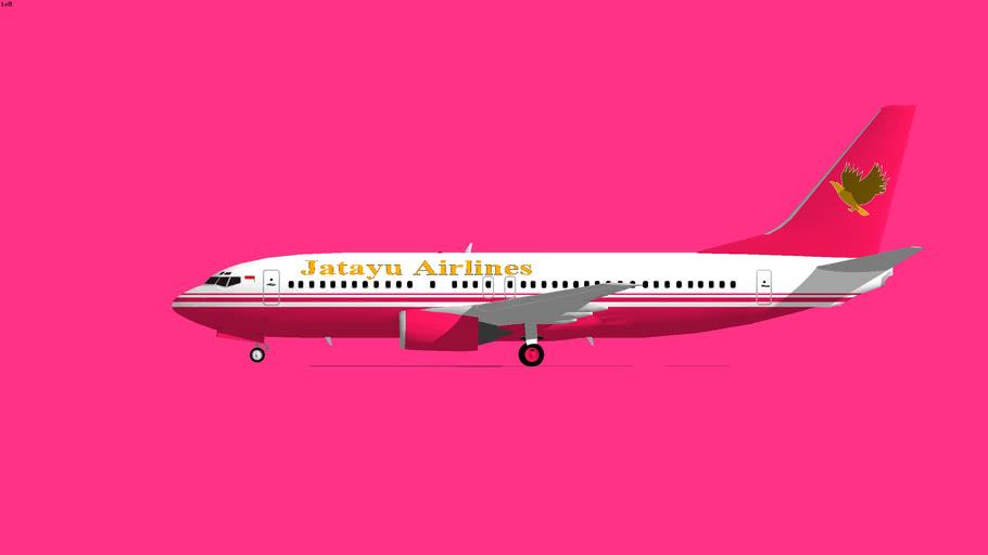 Jatayu Airlines Boeing 737-400 2