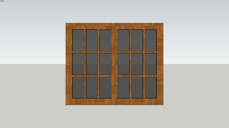 Double Tinted Window