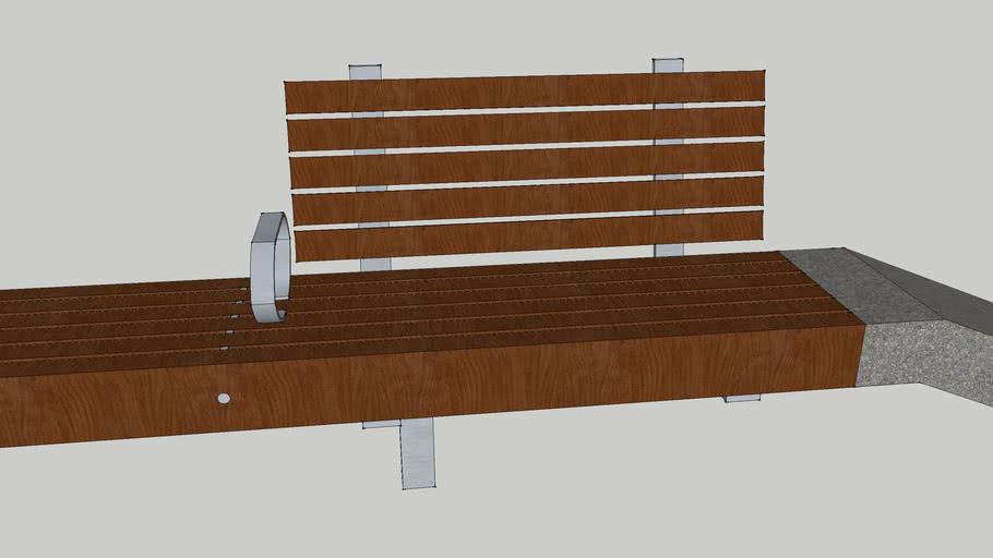 NY Highline Bench 2